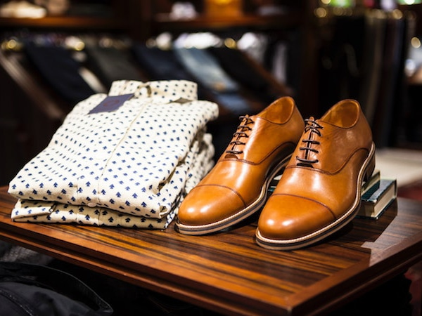 Men's clothing and footwear
